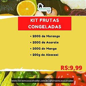 Kit Frutas Congeladas