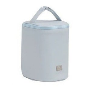 Porta Mamadeira Térmico Com Gel Azul Claro - Hey Baby
