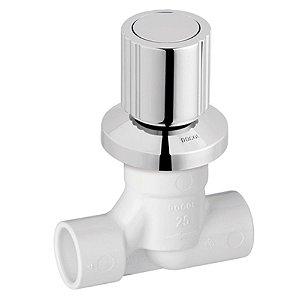 Registro BaseTec PVC Docol com acabamento Itapema Bella - 00515260