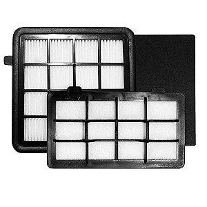 Kit 3 Filtros para Aspirador de Pó LIT31 Electrolux