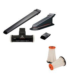 Kit Bocais Especiais + Filtros para Ergorapido ERG10 ao ERG25 Electrolux