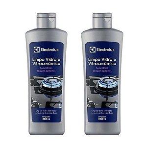 2 Limpa Vidro e Vitrocerâmico Electrolux - 200ml