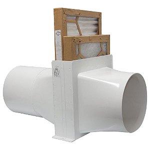 Caixa de Filtro de ar Sicflux Filbox Redonda 200mm