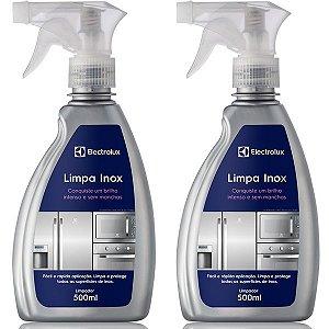 2 Limpa Inox Líquido Electrolux - 500ml