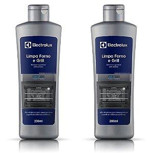 2 Limpa Forno e Grill Electrolux - 200ml