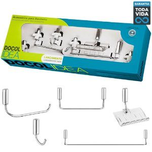 Kit de Acessórios para Banheiro Docol DocolIdea - 00586306