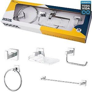 Kit de Acessórios para Banheiro Docol TRIP -  00765606