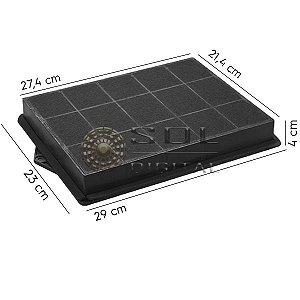 Filtro de Carvão Ativado para Coifas Electrolux CV900 e RGI36 (Linha Icon)