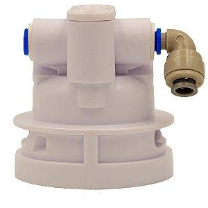 Base Cabeçote para Purificadores de Água Electrolux PE11B PE11X PH41B PH41X PC41B PC41X