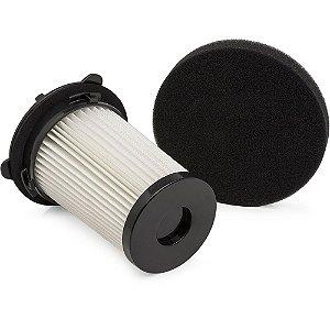 Kit Filtros Electrolux Original para Aspiradores de Pó Spin ABS01 e Smart ABS02 - EFS01