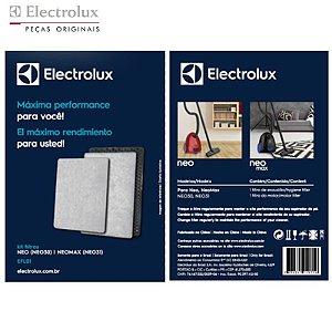 Kit Filtros EFL01 para Aspirador de Pó Electrolux Neo30 e Neo31 - A12996601