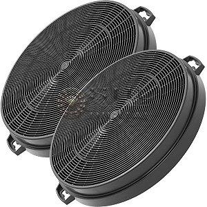 2 Filtros de Carvão Ativado para Coifas Electrolux 60CX 60CXS 90CX 90CXS