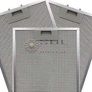 3 Filtros Metálicos para Coifa Electrolux 90CT