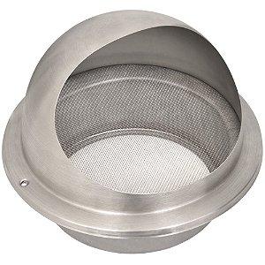 Tampa de Saída para Exaustão em Aço Inox com Tela Protetora para duto de 150mm - 94550013