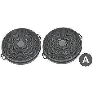2 Filtros de Carvão Ativado para Coifas Tramontina importadas - Modelo A