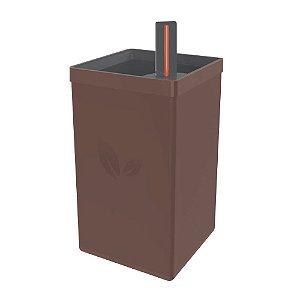 Vaso Autoirrigável Tramontina em Polipropileno Marrom 800 ml - 78130069