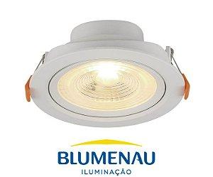Spot LED Slim de Embutir 3.000K 6W Blumenau
