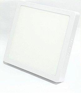 Painel de Led de Sobrepor 12W 6.500k  17cm X 17cm