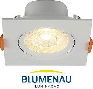 Spot LED de Embutir Quadrado 8W Blumenau