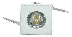 Mini Spot LED 1W 3000K Branco Nordecor