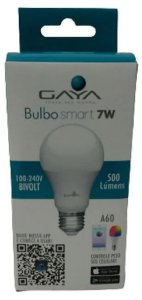 Lâmpada LED Bulbo 7W Smart Gaya