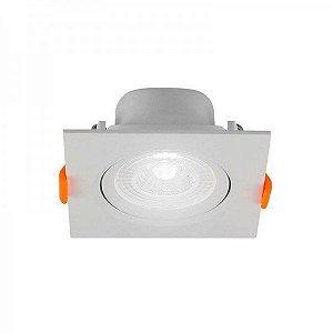 Spot LED de Embutir Quadrado 6 W 6500 K