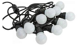 Cordón Luminoso 10 Leds de Goma ( Varal de luzes )