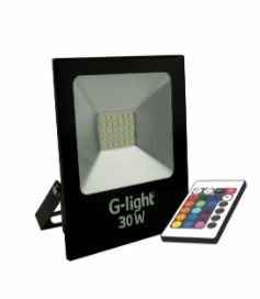 Refletor LED SLIM 30W RGB G-LIGHT