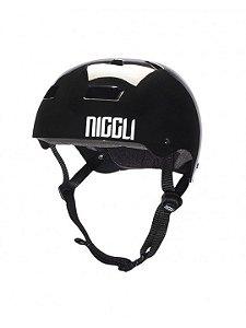 Capacete Niggli Iron Light Preto