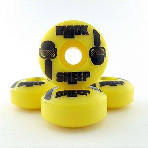 Roda Black Sheep Mike Yellow 54mm