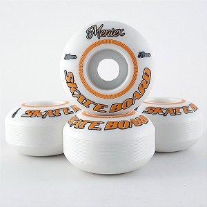 Roda Mentex White 53mm