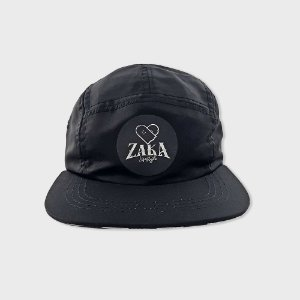 Boné Zaka Lifestyle 5 Panel Black