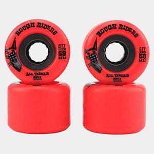 Roda Bones Rough Riders ATF 59mm Red