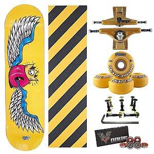 Skate Completo Amador Yellow