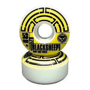 Roda para Skate Black Sheep Tubo 53mm 97a profissional