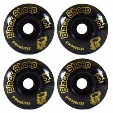 Roda para Skate Black Sheep Semi 51mm Preta