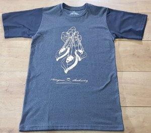 Camiseta Zion Cinza Escura