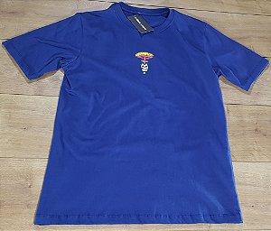 Camiseta Banks Azul Escuro Caveira Explode