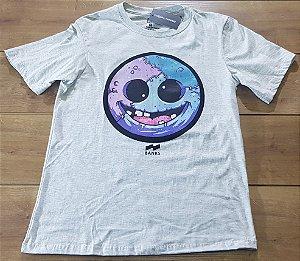 Camiseta Banks Cinza Crazy Smile