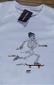 Camiseta Banks Branca Caveira