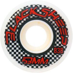Roda De Skate Importada Roda 53MM 83B Branca