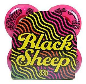 Roda De Skate Importada Black Sheep 53mm Rosa 102a dureza