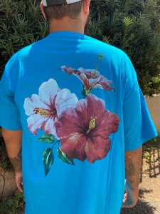 Camiseta Big Memphis Azul Claro
