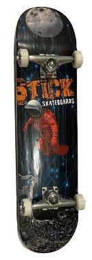 Skate Montado Stick Astronauta