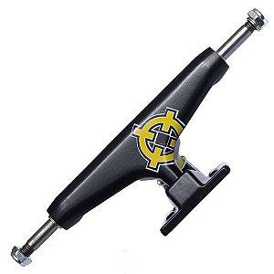 Truck Intruder Pro Séries Preto 129mm Mid