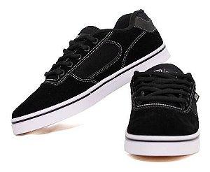 Tênis Hocks Flat Lite Black/line white 03