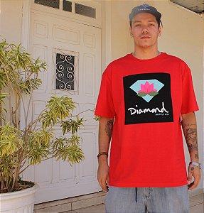 Camiseta Diamond Lotus Box Sign Tee A20DMPA016