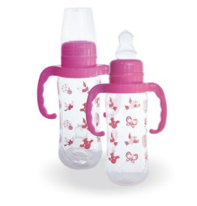 Mamadeira Mamita Decorada 240 Ml C/ alça Blister