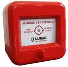 Acionador Manual Convencional Rearmável  Ilumac- AMF-C