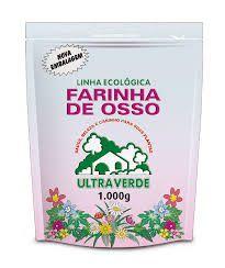 FARINHA DE OSSO - 1 KG (LINHA ECOLOGICA)